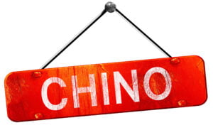 57916555 - chino, 3d rendering, a red hanging sign